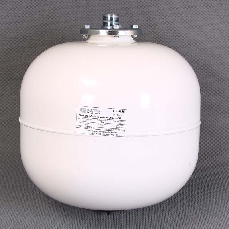 """Расширительный бак белый MAG-H для отопления WATTS Ind присоединение 3/4"""" 12л"""