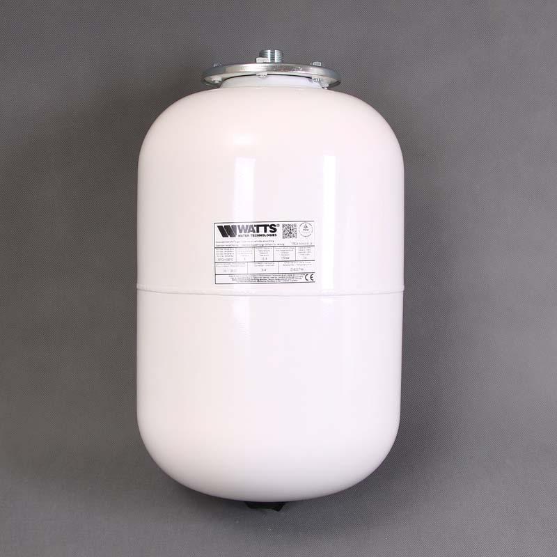 """Расширительный бак белый MAG-H для отопления WATTS Ind присоединение 3/4"""" 24л"""
