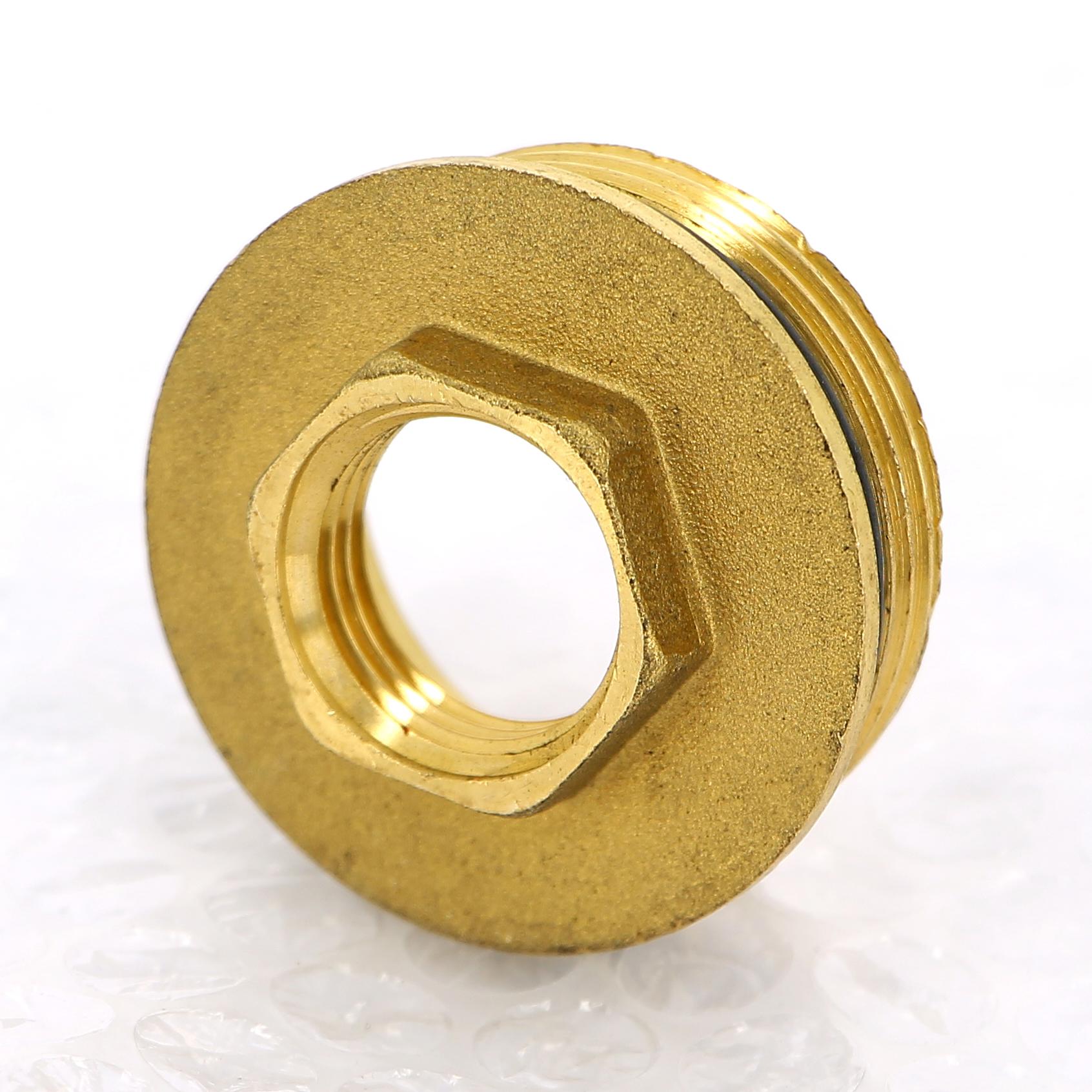 "Переходник НВ с O-ring, для торца коллектора TIEMME 1""1/4x1/2"""