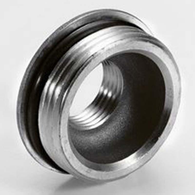 """Переходник НВ с O-ring никелированный для торца коллектора TIEMME 1""""1/4x1/2"""""""