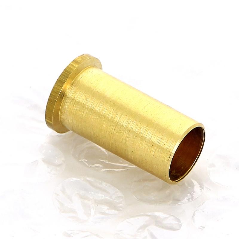 Вставка латунная для мягкой медной трубы TIEMME 12
