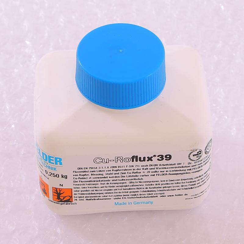 Флюс жидкий в банке с кисточкой Cu-Roflux®39 FELDER 250г