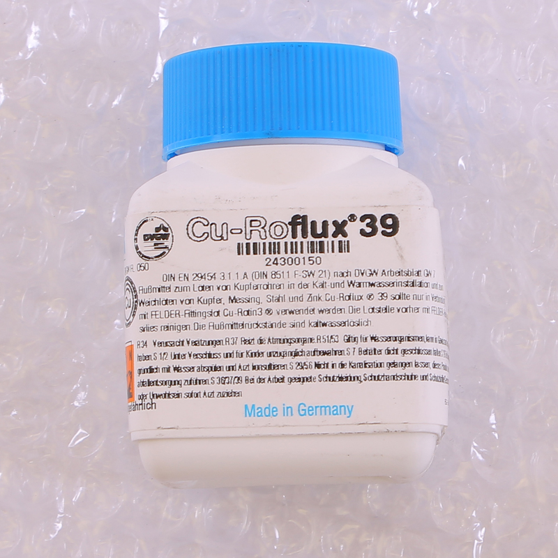 Флюс жидкий Cu-Roflux®39 в банке с кисточкой FELDER 100г