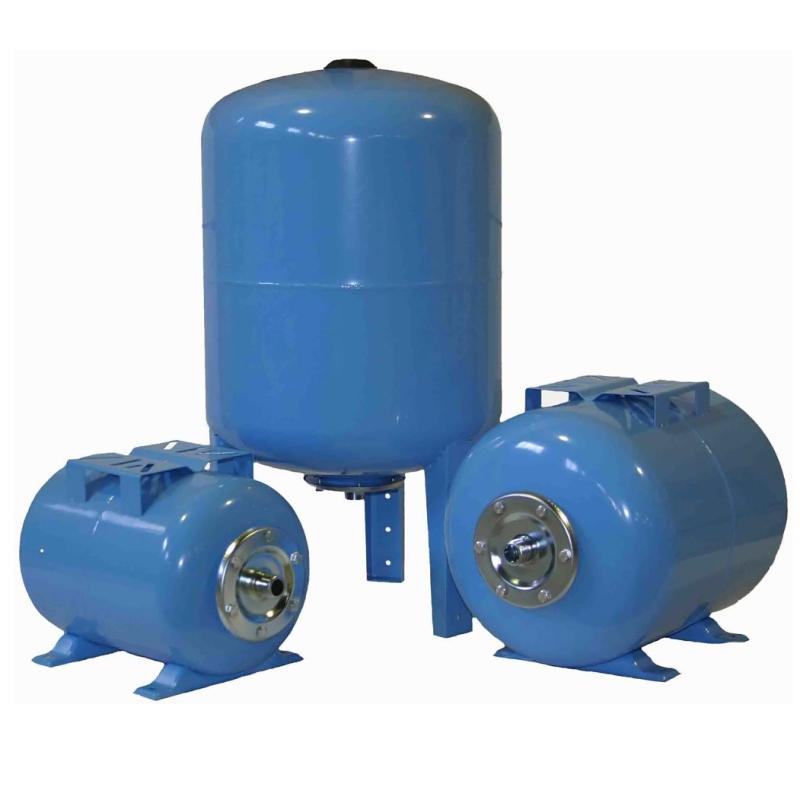 Гидроаккумулятор синий Refix DE для водоснабжения Reflex 80л