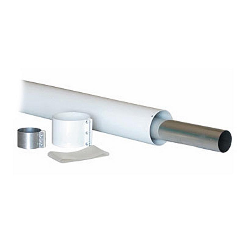 Удлинитель коаксиального дымоотвода для котлов BAXI D=60/100, длина 500 мм НТ