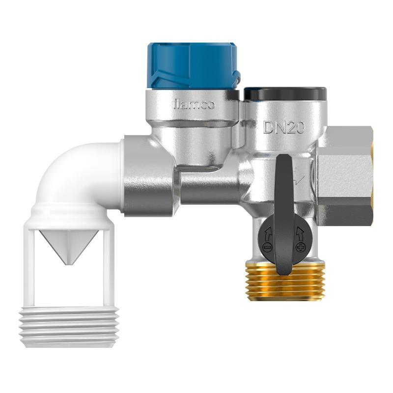 Группа безопасности водонагревателя Flexbrane Flamco CE-H  3/4  горизонтальная