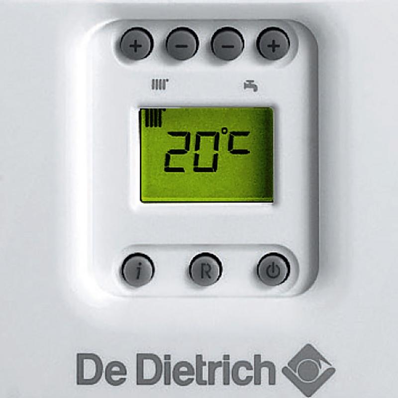 Котел газовый настенный De Dietrich ZENA MS 24 FF одноконтурный закрытый 24 кВт