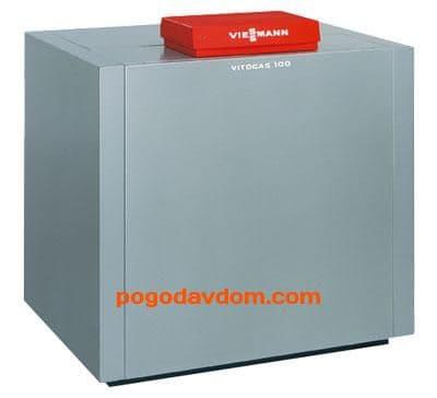 2 котла Vitogas 100-F  84/168 кВт  блок