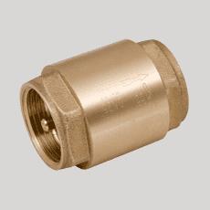 Клапан обратный пружинный с металлическим затвором 3/4'