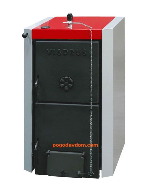 Чугунный твердотопливный котел Viadrus U22 С-7/D-7