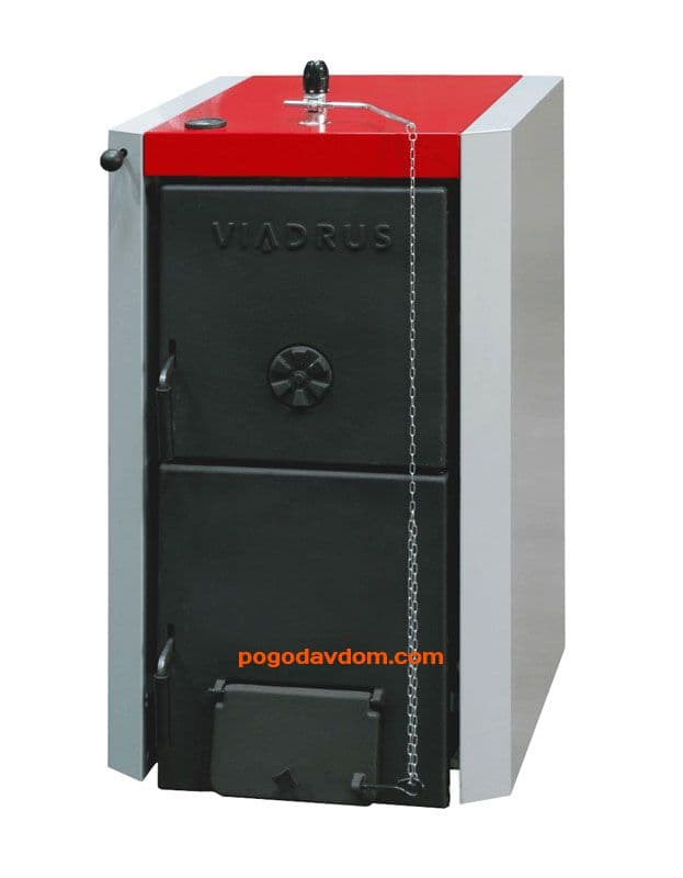 Чугунный твердотопливный котел Viadrus U22 С-9/D-9