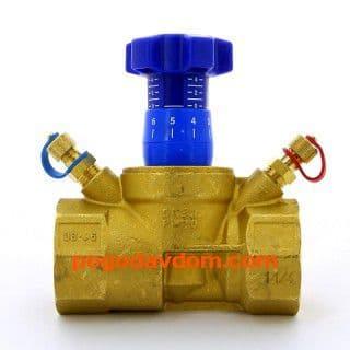Cimberio Клапан балансировочный CIM 727 ручной 1/2' В / DN 15