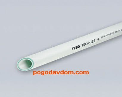 Труба Tebo  25 PN20 (стекловолокно)