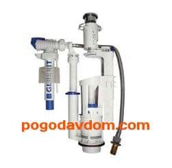 Механизм слива GEBERIT для бачка подвод сбоку/снизу/сзади
