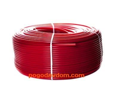 Трубы PE-Xa/EVOH  для напольного отопления, красная 16х2,0