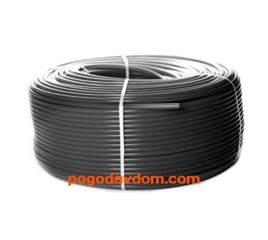 Трубы PE-Xa/EVOH  для напольного отопления, серая 16х2,2
