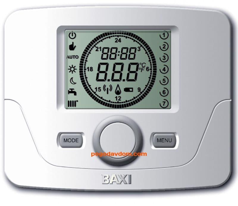 Датчик комнатной температуры с таймером