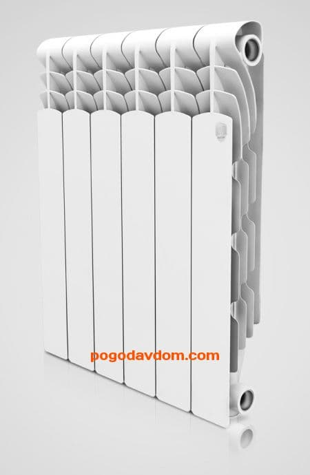 Радиатор Royal Thermo Revolution 350-4 секц.