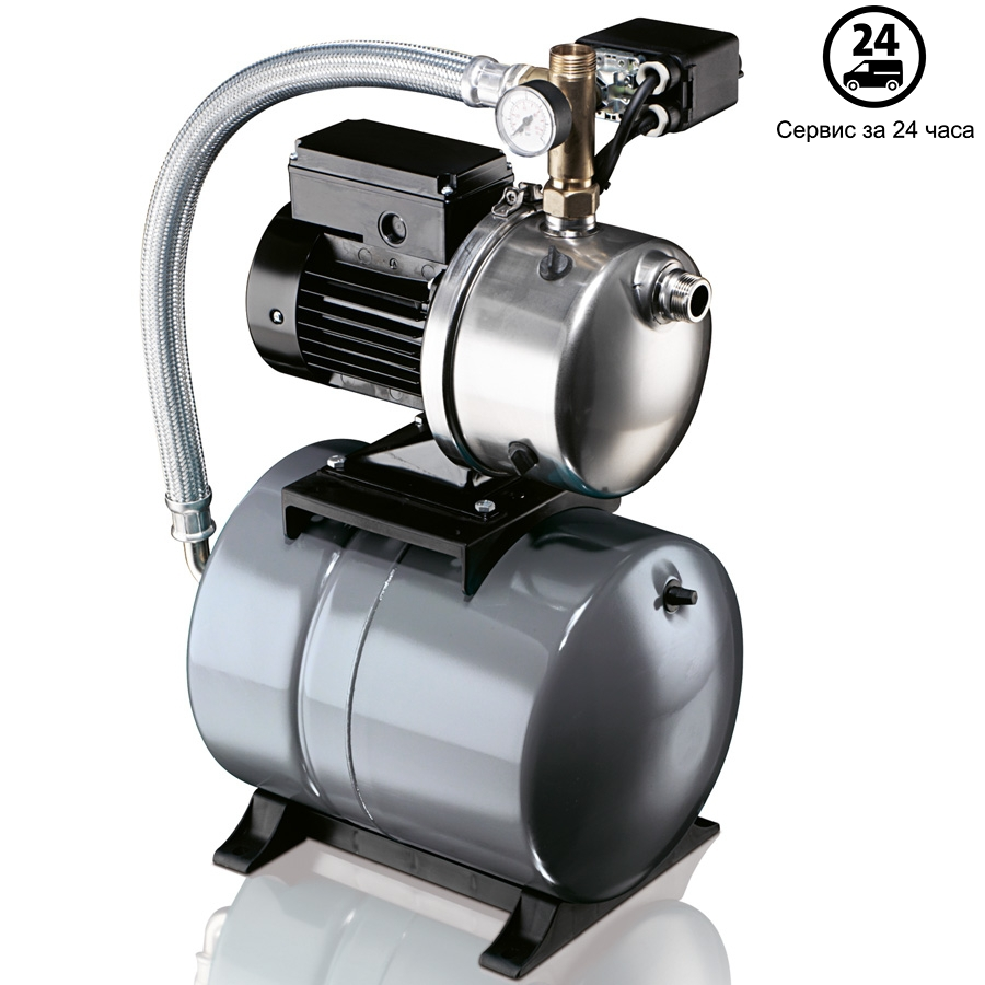 Самовсасывающая насосная установка Grundfos JPB 5 бак 24 литра