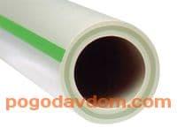 Труба Faser PN20 20х3.4 стекловолоконный слой (штанга 4м)