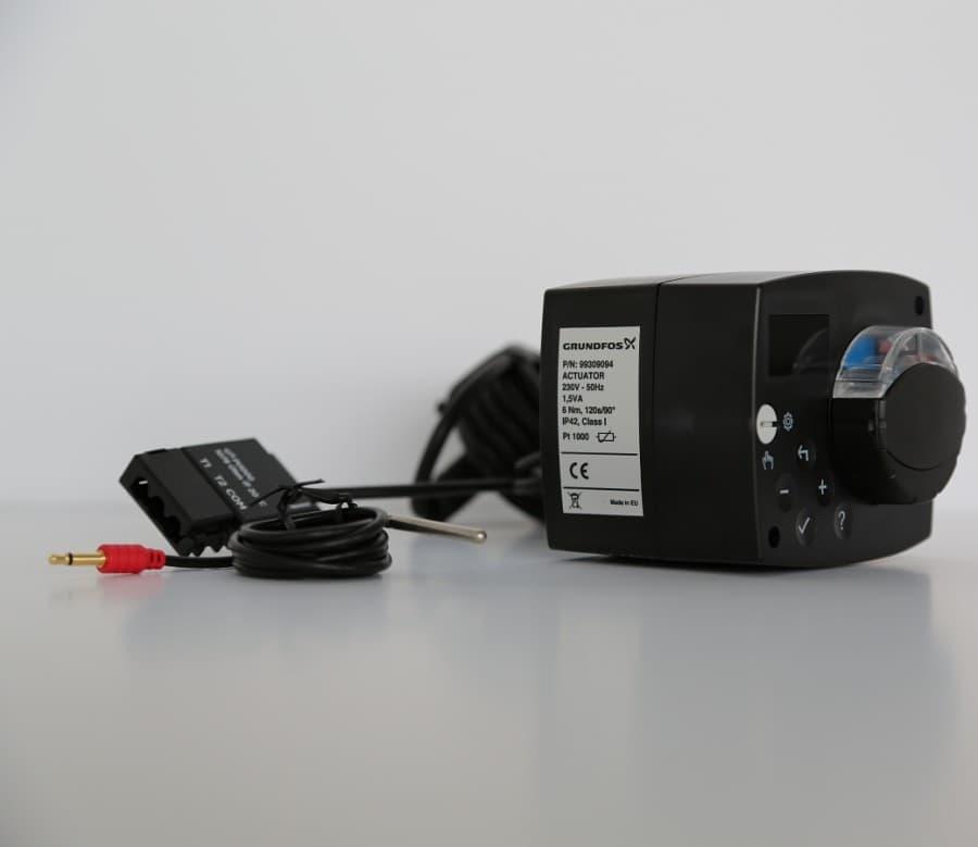 Сервопривод для автономного управления насосной группой Heatmixс датчиком температуры