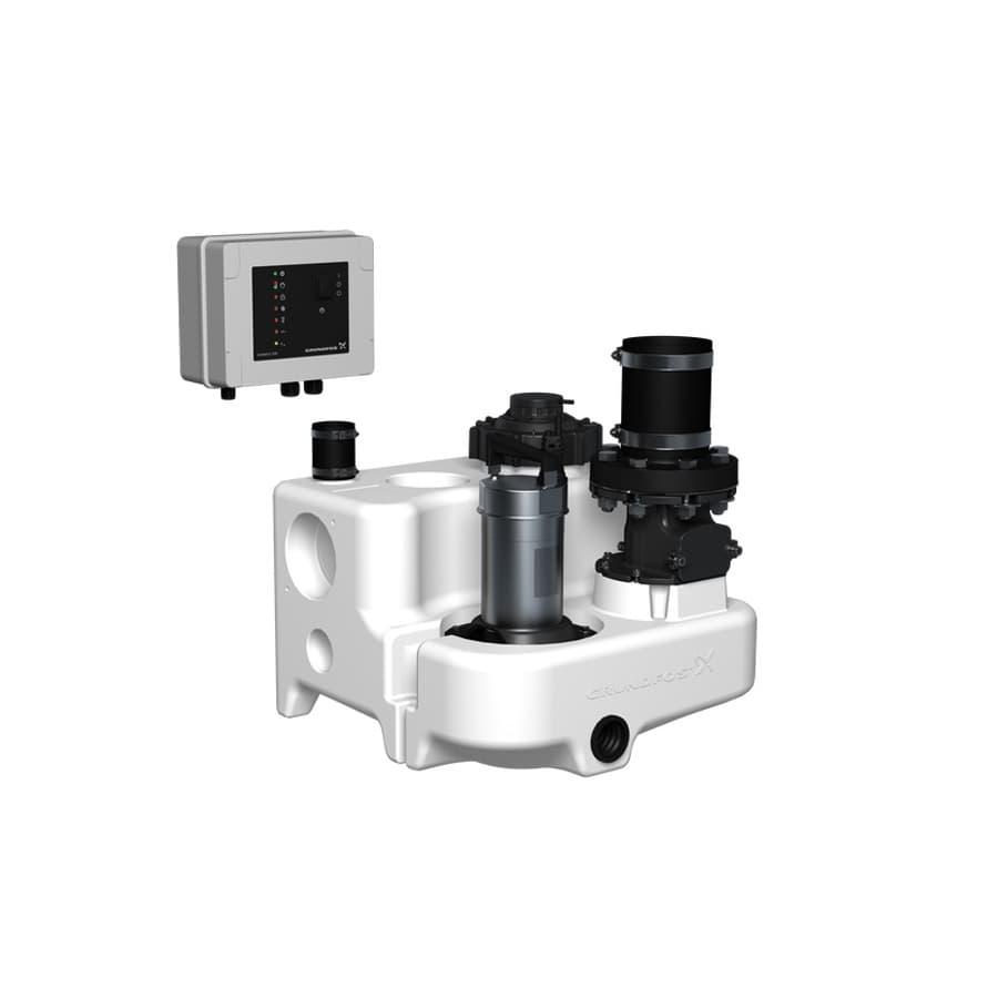 Канализационная насосная установка Grundfos MULTILIFT MSS.11.1.2 (10м, без обратного клапана)