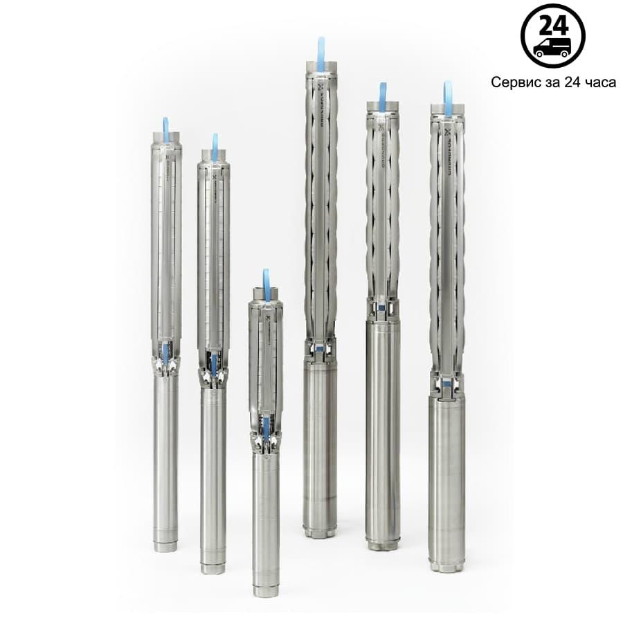 Скважинный насос Grundfos SP 5A-75 3x400В