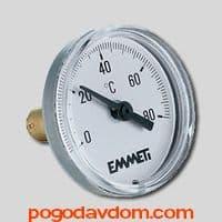 """Термометр для коллекторных групп 0–80°С 1/2"""""""