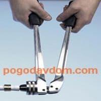Ручной инструмент для расширения труб RAZ-V 14-32