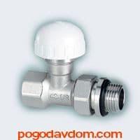 Вентиль термостатический НВ с крышкой со сгоном (серия POKER)